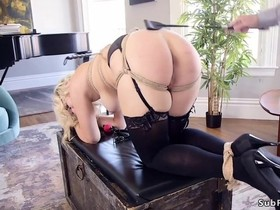 Horny man fucks his fiancee and stepdaughter at the same time