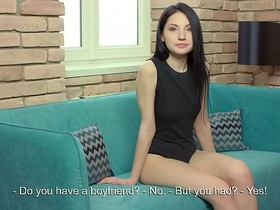 Emily Insomnia. 18 Y.O Gorgeous real virgin girl shows her masturbation.