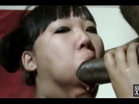 Katie Lee Sucks Slurps-N-Rides The Black Anaconda